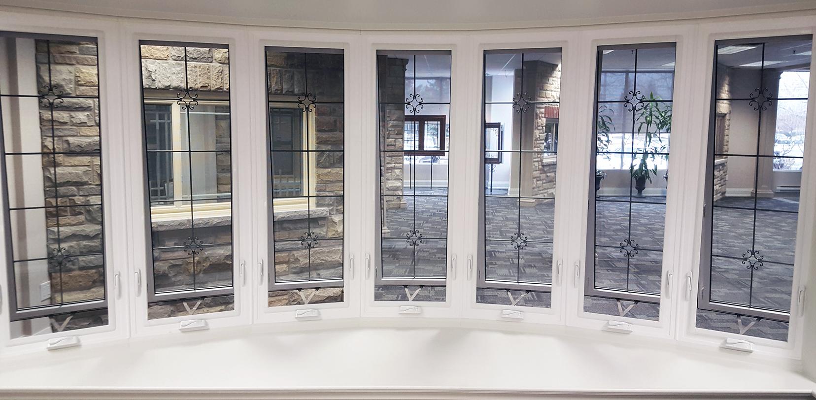 Custom Bow windows, Renova Windows And Doors, Vinyl Window Bay, Bow