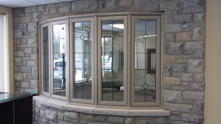Our showroom renova window door designs ltd for Custom design windows