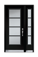 White Glass, Frosted Design, Modern Door, Toronto Door, Mississauga Door, Mississauga Doors