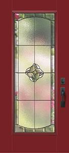 Burgundy Door Colour