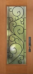 Beautiful Door, Fiberglass,